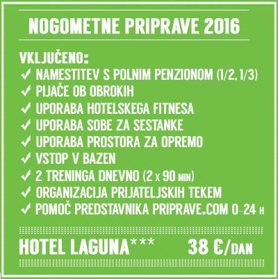 Nogomet priprave Novigrad Laguna