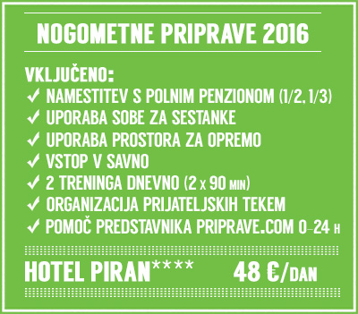Nogomet priprave Piran HotelPiran