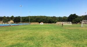 nogometno igrišče poreč priprave istra